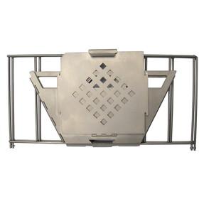 Vargo Fire Box Grill titanio